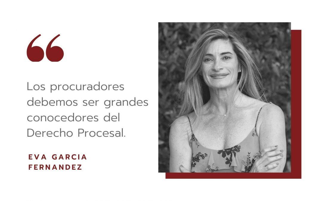 Entrevista LA VANGUARDIA. Eva García Fernández, procuradora
