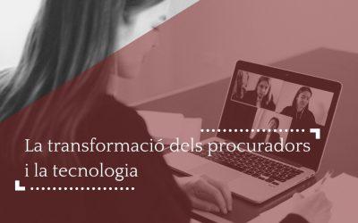 La transformació dels procuradors i la tecnologia