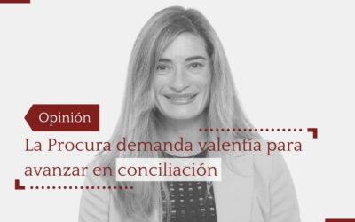 La Procura demanda valentía para avanzar en conciliación